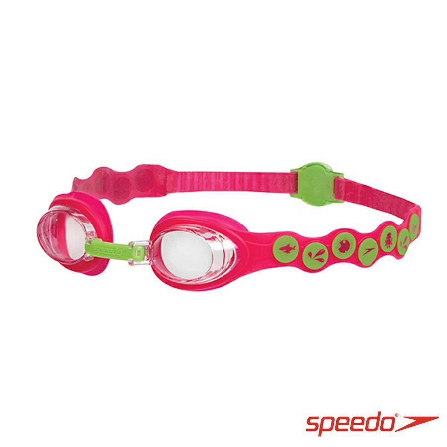 ║speedo║兒童泳鏡 Seasquad紅綠