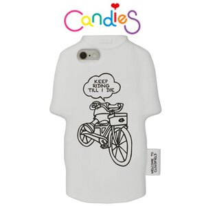 【Candies】Candies T恤外殼-Keep Riding-IPhone6 4.7 inch 酷炫上市!!
