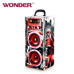 WONDER 旺德藍牙 KTV音響 WS-T024U 紅【三井3C】