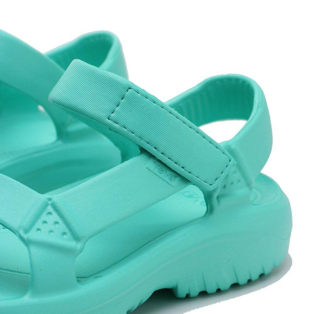TEVA 蒂綠色 蒂芬妮綠 防水 黏帶 膠鞋 女 (布魯克林) TV1102390WFAL