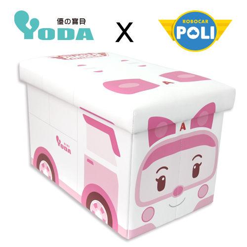 【POLI 變形車系列】YODA 波力救援小英雄 收納箱-安寶