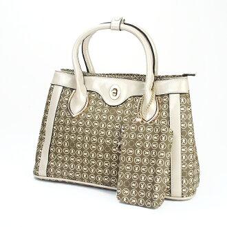 【橘子包舖-出清】 PLAYBOY 女包包 雙層手提包.側背包 (二色) [A15-007]