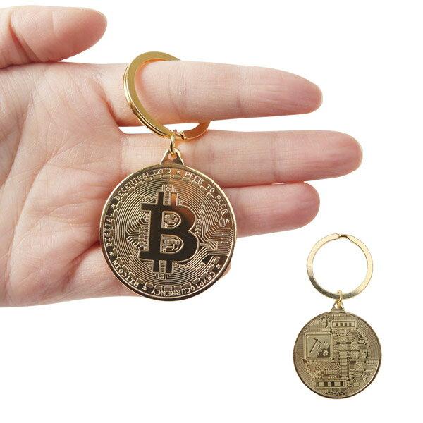 【橘子包舖】錀匙圈韓國正貨FROMb比特幣錀匙扣Bitcoin挖礦[A0589]