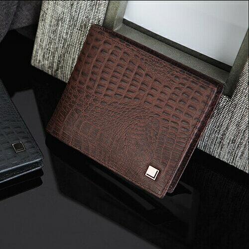 現貨 韓國正貨 FROMb 鱷魚紋真皮短夾錢包 [G0812] 有鈔票夾 橘子包舖