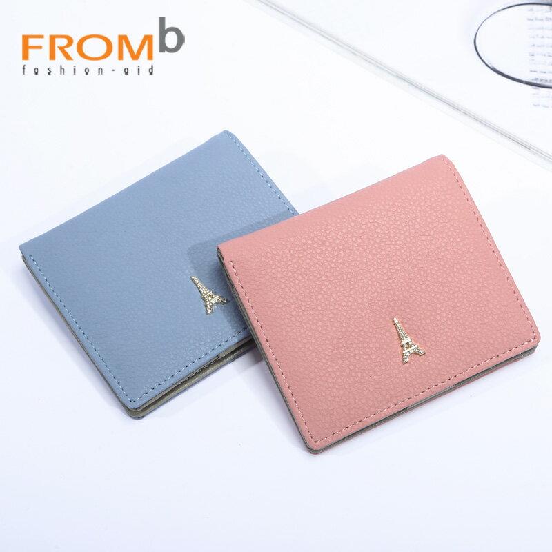 【橘子包舖】韓國正貨 FROMb 真皮短夾錢包 [G0877] 摩絡哥|女皮夾|四色