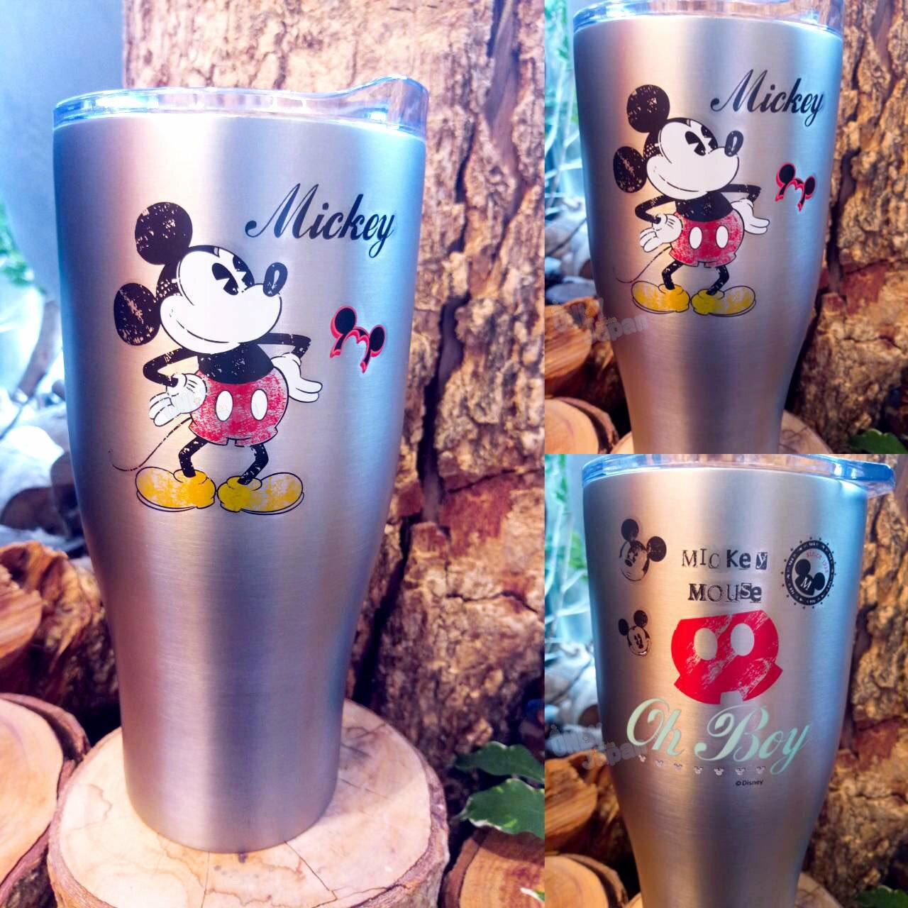 保溫杯 冰霸杯 杯 冰霸 冰 真空 保溫 保冷 水杯 米奇 不銹鋼 不鏽鋼 20112600014 真愛日本