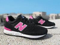 New Balance 美國慢跑鞋/跑步鞋推薦Shoestw【WL565PG】NEW BALANCE NB565 復古慢跑鞋 黑粉紅 麂皮 女生尺寸