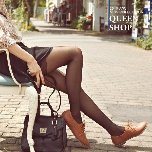 Queen Shop【07110107】美腿顯瘦不易破透膚絲襪 特價*預購*