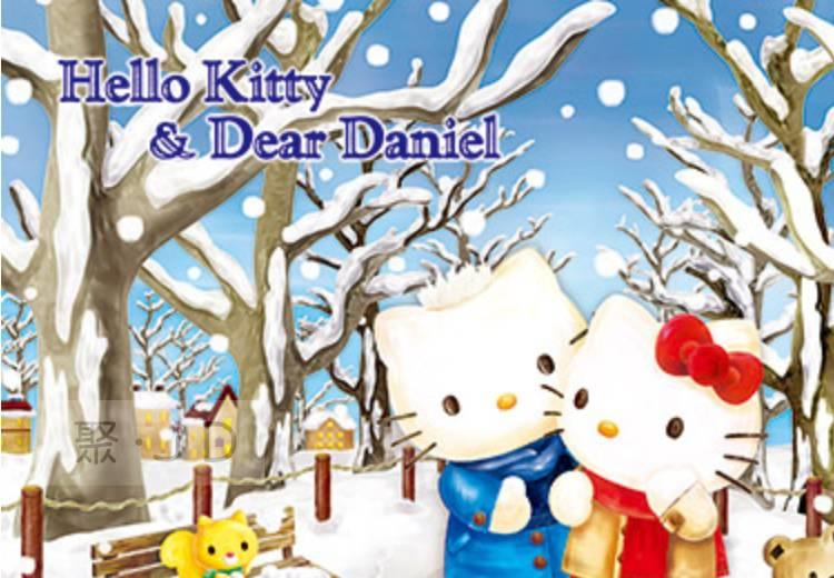 幼吾幼兒童百貨商城 【P2拼圖】三麗鷗 Hello Kitty - 冬之戀歌 (300pcs) HP0300S-182