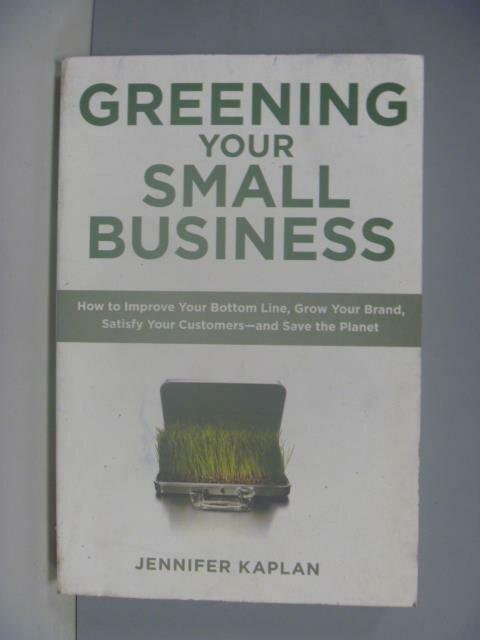 ~書寶 書T8/財經企管_ZES~Greening Your Small Business