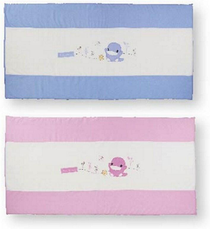 KUKU 酷咕鴨 豪華透氣乳膠床墊 藍/粉 KU2049