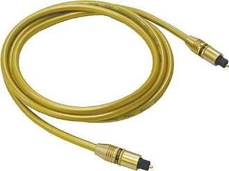 ANV【數位光纖線1公尺】特價促銷打廣告高級金色(AF-10101A)一條