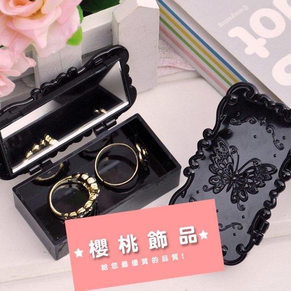安娜蘇睫毛收納盒(蝴蝶/薔薇花)【櫻桃飾品】【21689】