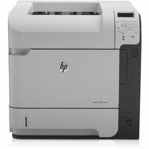 HP LaserJet 600 M602DN Laser Printer - Monochrome - 1200 x 1200 dpi Print - Plain Paper Print - Desktop - 52 ppm Mono Print - 600 sheets Standard Input Capacity - 225000 Duty Cycle - Automatic Duplex Print - LCD - Ethernet - USB 1