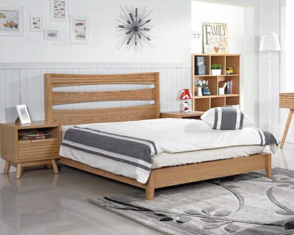 床架【YUDA】Wood Style 和風日式 悠晴 實木 3.5尺 單人 床架/床底/床組  J9S 343-1