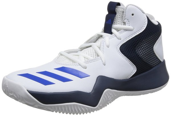 ADIDASBASKETBALLCRAZYTEAMII男鞋籃球高筒白黑藍【運動世界】CQ0837
