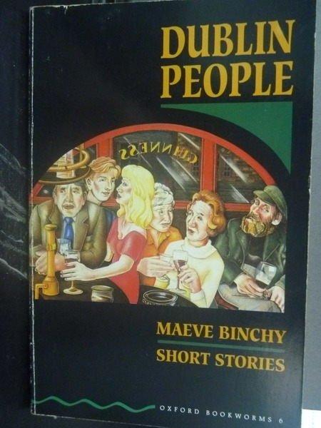 【書寶二手書T9/原文小說_JNH】Dublin people / Maeve Binchy_Maeve Binchy