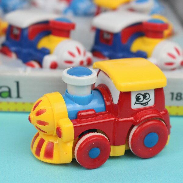 摩輪合金火車 0783-34迴力搖頭可愛小火車/一個入{促100} Q版小火車玩具(真環保不必用電池喔)~生