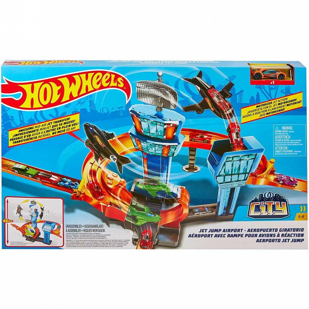 《風火輪Hot Wheels》 城市飛機跳躍組 東喬精品百貨