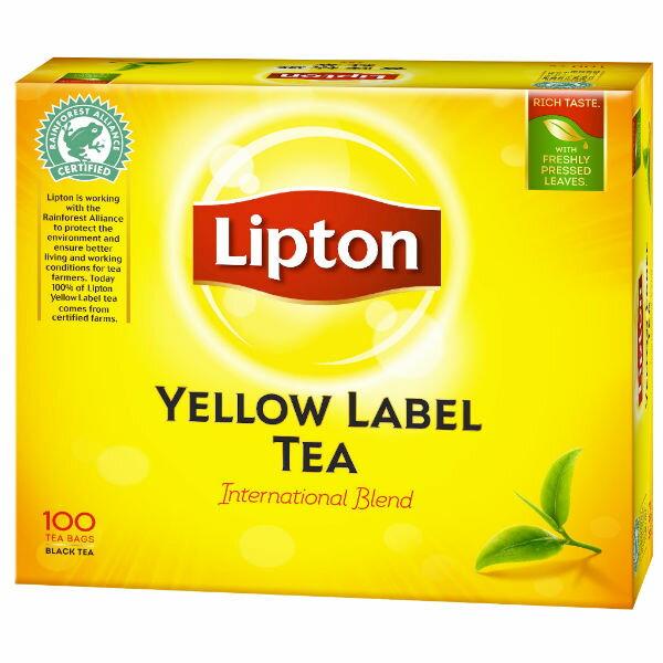 立頓黃牌紅茶100入