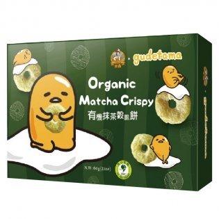 美纖小舖:米森有機抹茶穀脆餅60g盒