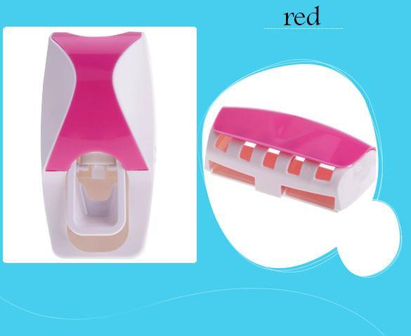 Automatic Toothpaste Dispenser + Toothbrush Holder 1