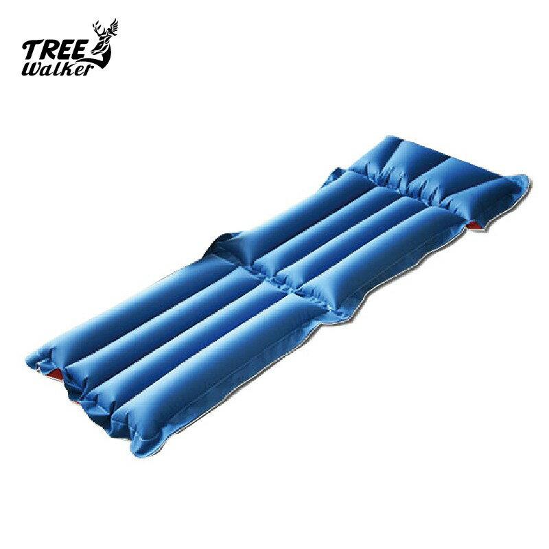 【Treewalker露遊】二用充氣折疊床椅 優質懶人充氣床 單人非自動充氣床墊 睡墊