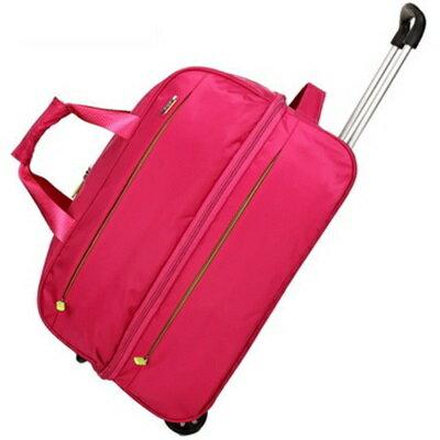 ☆行李袋 旅行拉桿包 -防水手提可伸縮大量男女商務包 4色73b17【獨家進口】【米蘭精品】