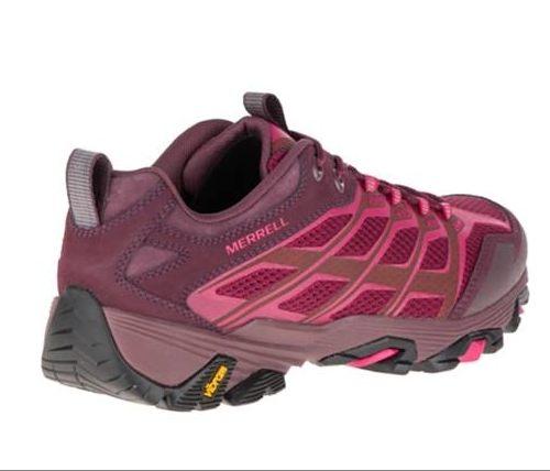 【單筆滿3000元>憑優惠券代碼B7NH-EAUI-TLBS-JXSZ。現打9折│全店10倍點數】MERRELL MOAB FST GORE-TEX 暗紅 女 健行鞋│休閒鞋│運動鞋 5