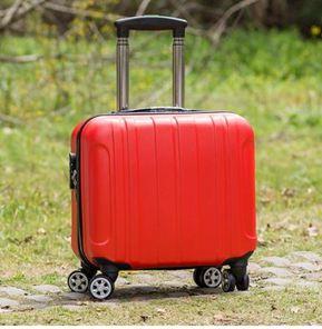 迷你行李箱14寸拉桿箱女小輕便旅行箱密碼箱小型小號16飛機可攜帶JD