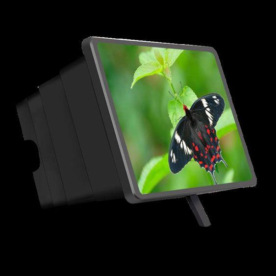 手機螢幕放大器放大器鏡高清護眼寶大屏投影蘋果安卓通用護眼看電 智慧e家