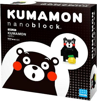 《Nano Block迷你積木》 NBH-074 熊本熊