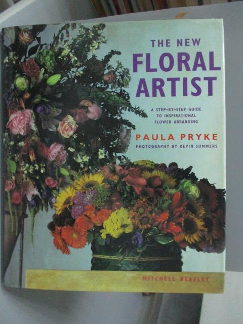 ~書寶 書T1/ _ZES~THE NEW FLORAL ARTIST_PAULA PRY