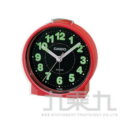 CASIO 鬧鐘 TQ-228-紅