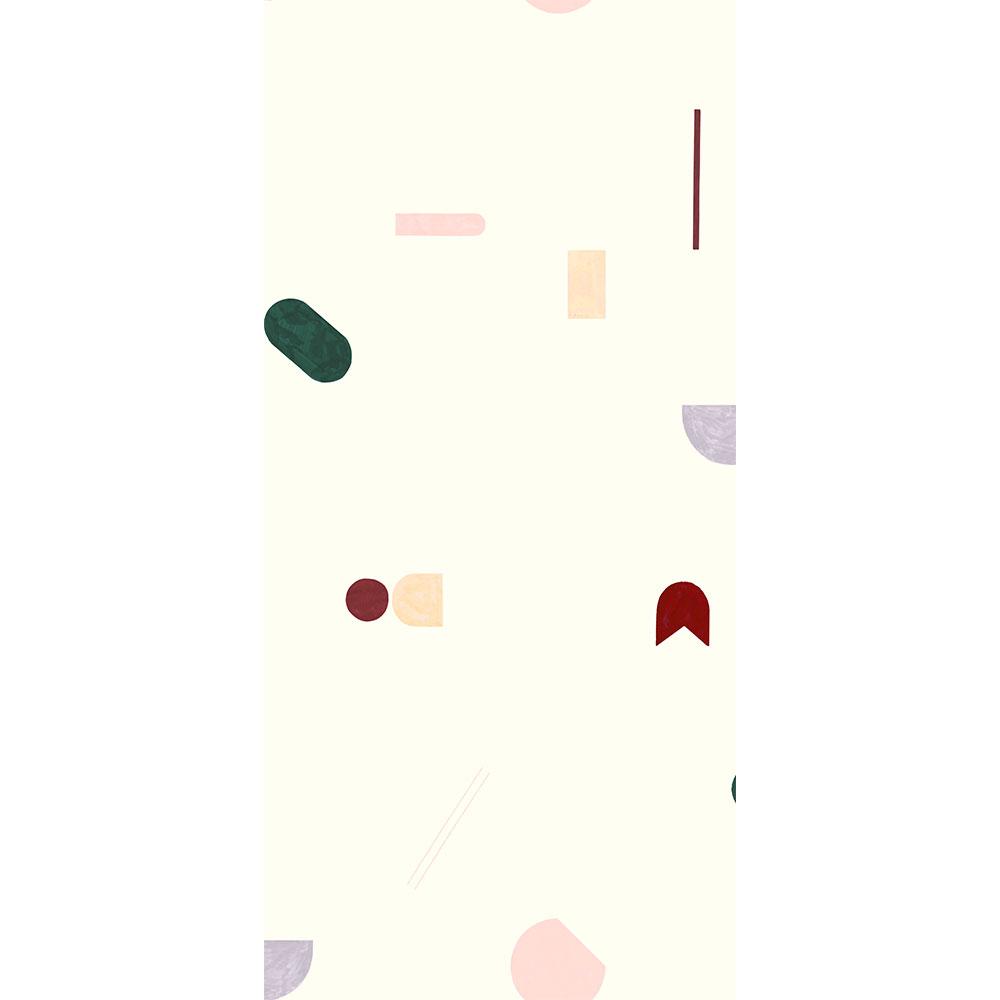法國壁紙 幾何形圖案  2色可選  Season Paper x Heju合作壁紙 3