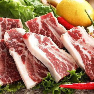 一口燒單骨片牛小排300g~肋脊部~一口牛肉、雙重享受、骨頭焦香,肉質雋永 鐵板、香煎簡單