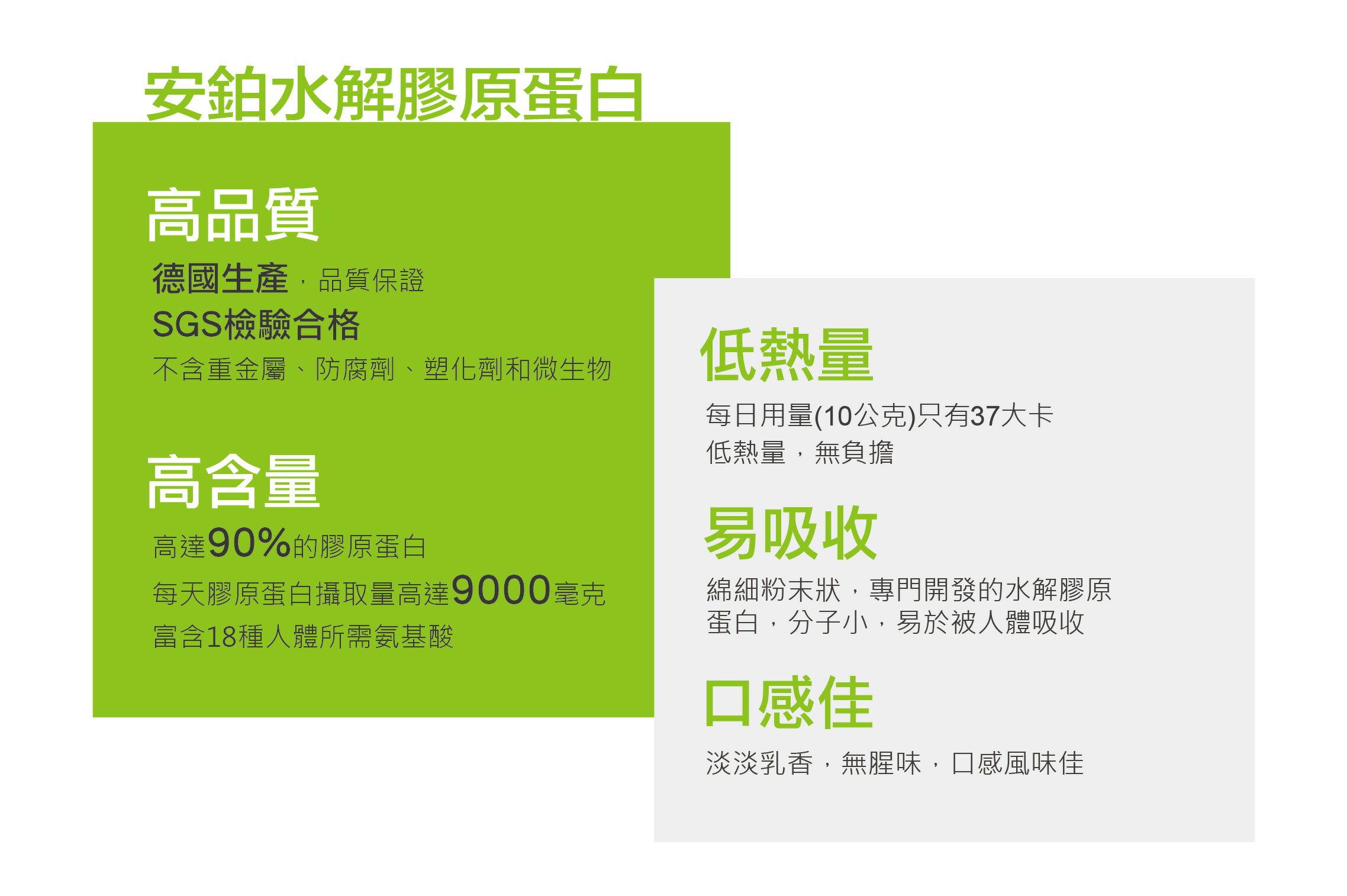 特價免運/安鉑水解膠原蛋白粉.小綠隨身包【1盒裝】 3