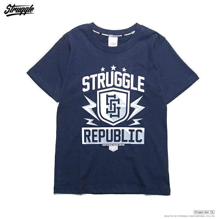 【StruggleGear】SG盾牌LOGO T「丈青」81621