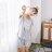 大尺碼熱銷追加款居家服 女生純棉流行睡衣 短袖短褲休閒套裝 可愛舒適家居服 共三色S-XL【漫時光】(87005L) 8