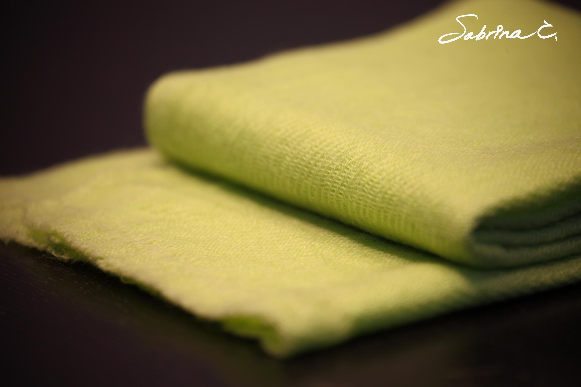 Cashmere迷你厚織圍巾(無流蘇)(14016)