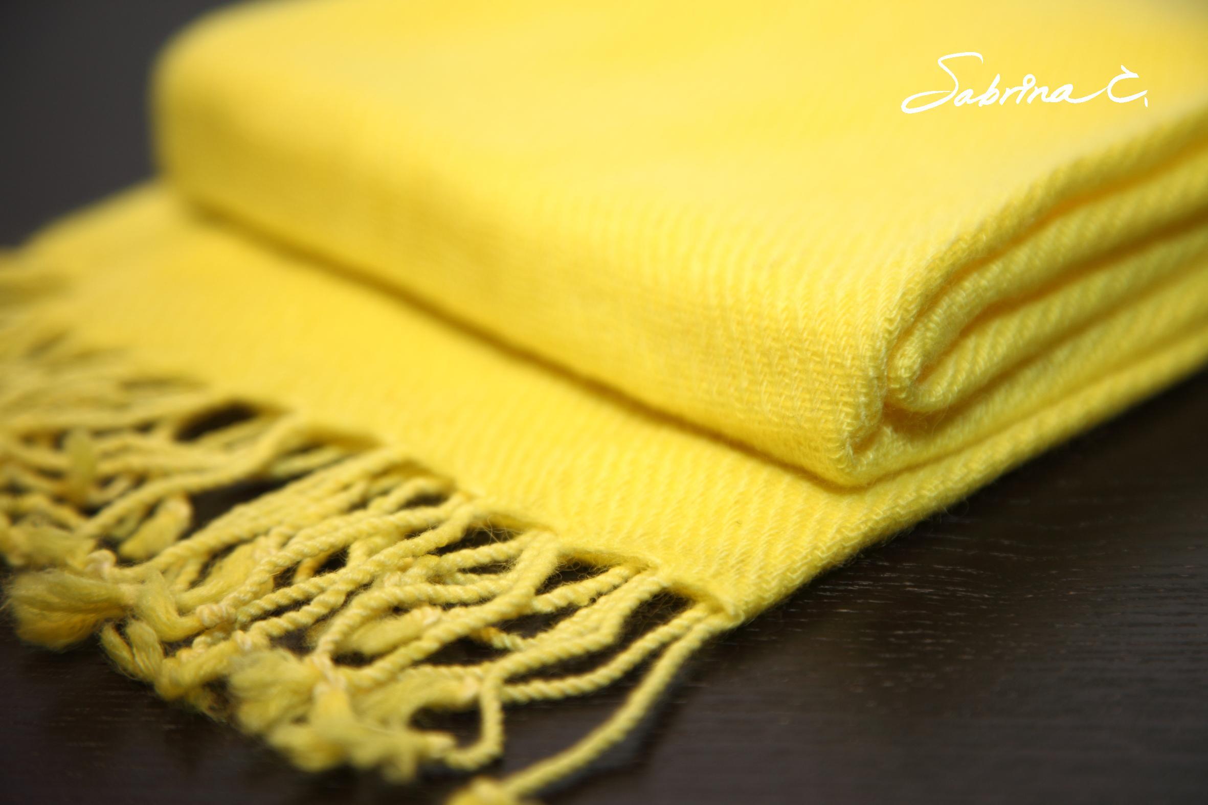 Cashmere迷你厚織圍巾(14054)