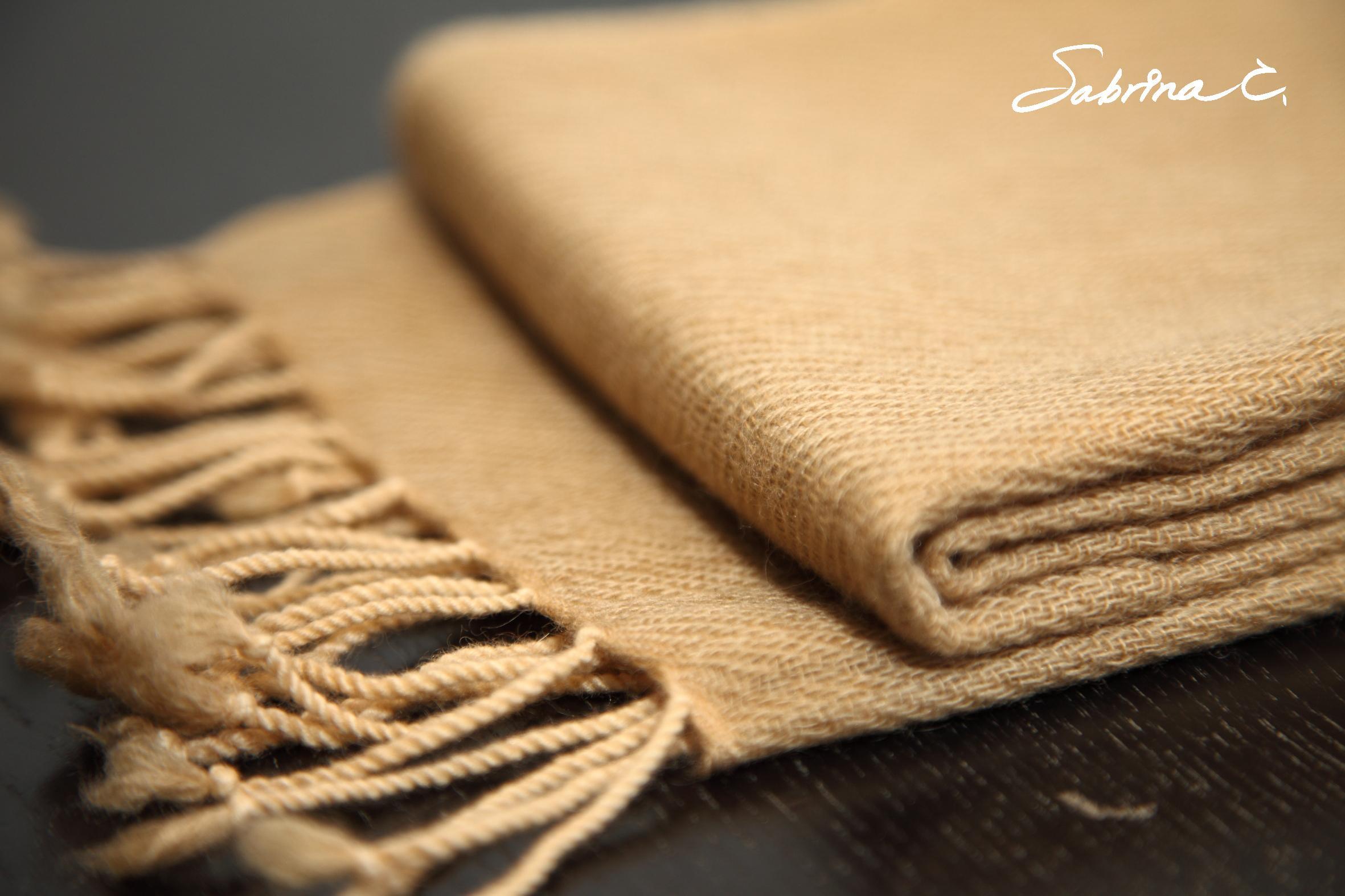 Cashmere迷你厚織圍巾(14059)