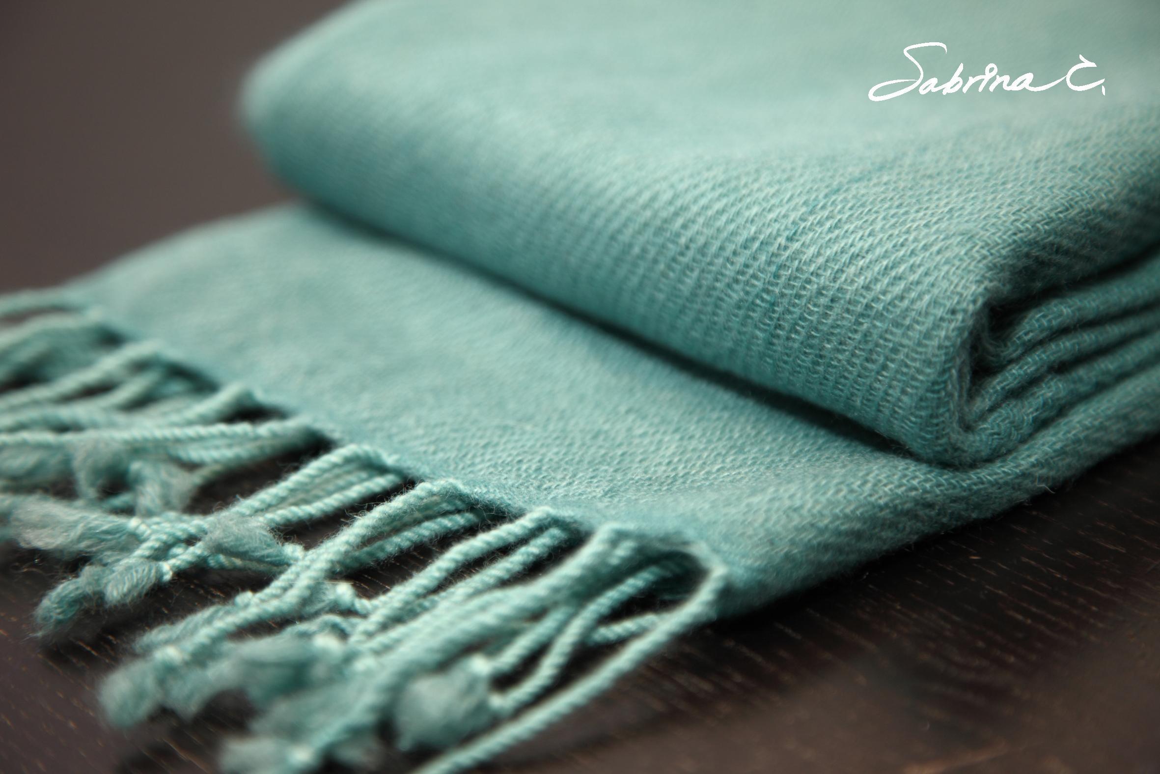 Cashmere迷你厚織圍巾(14065)