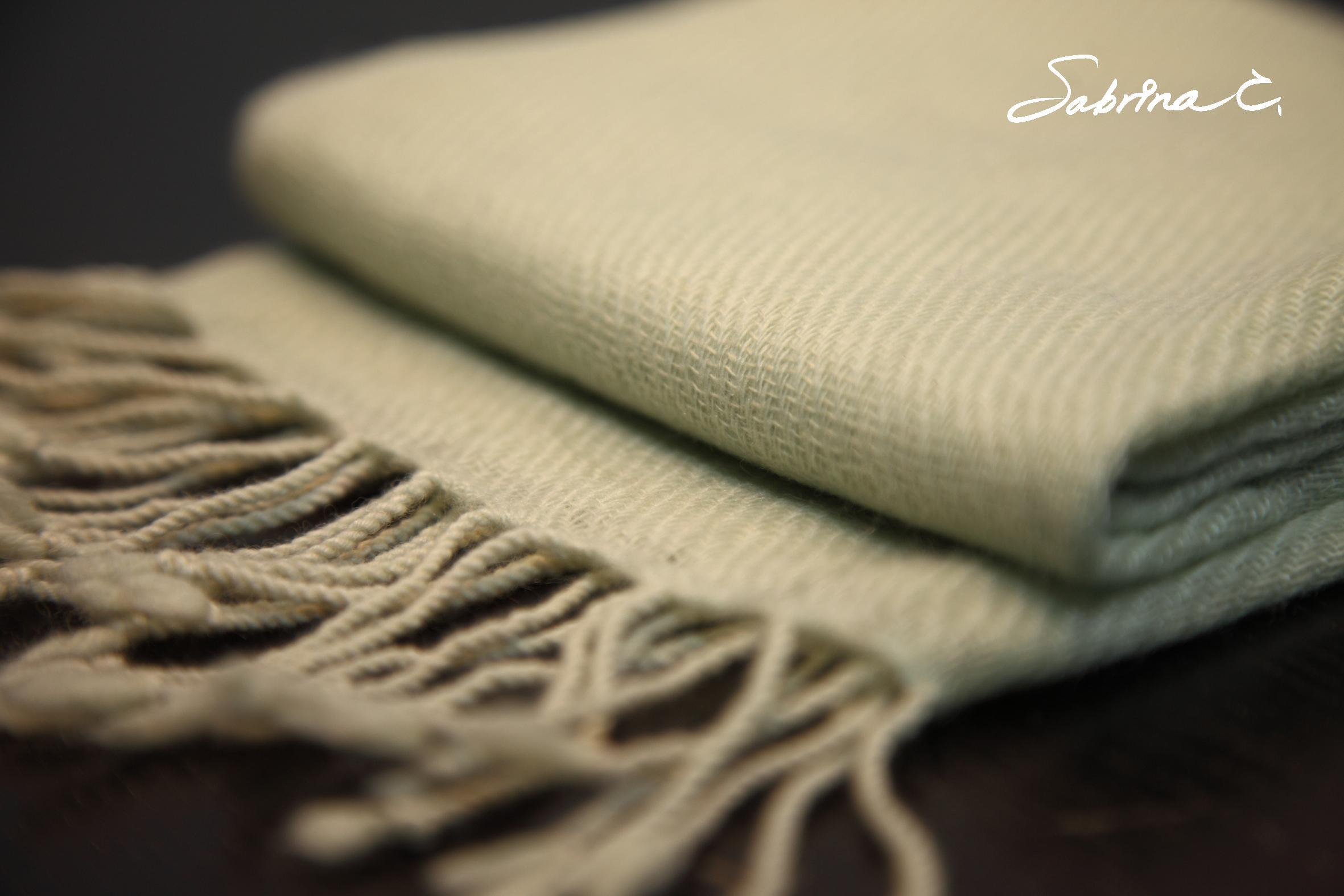 Cashmere迷你厚織圍巾(14068)