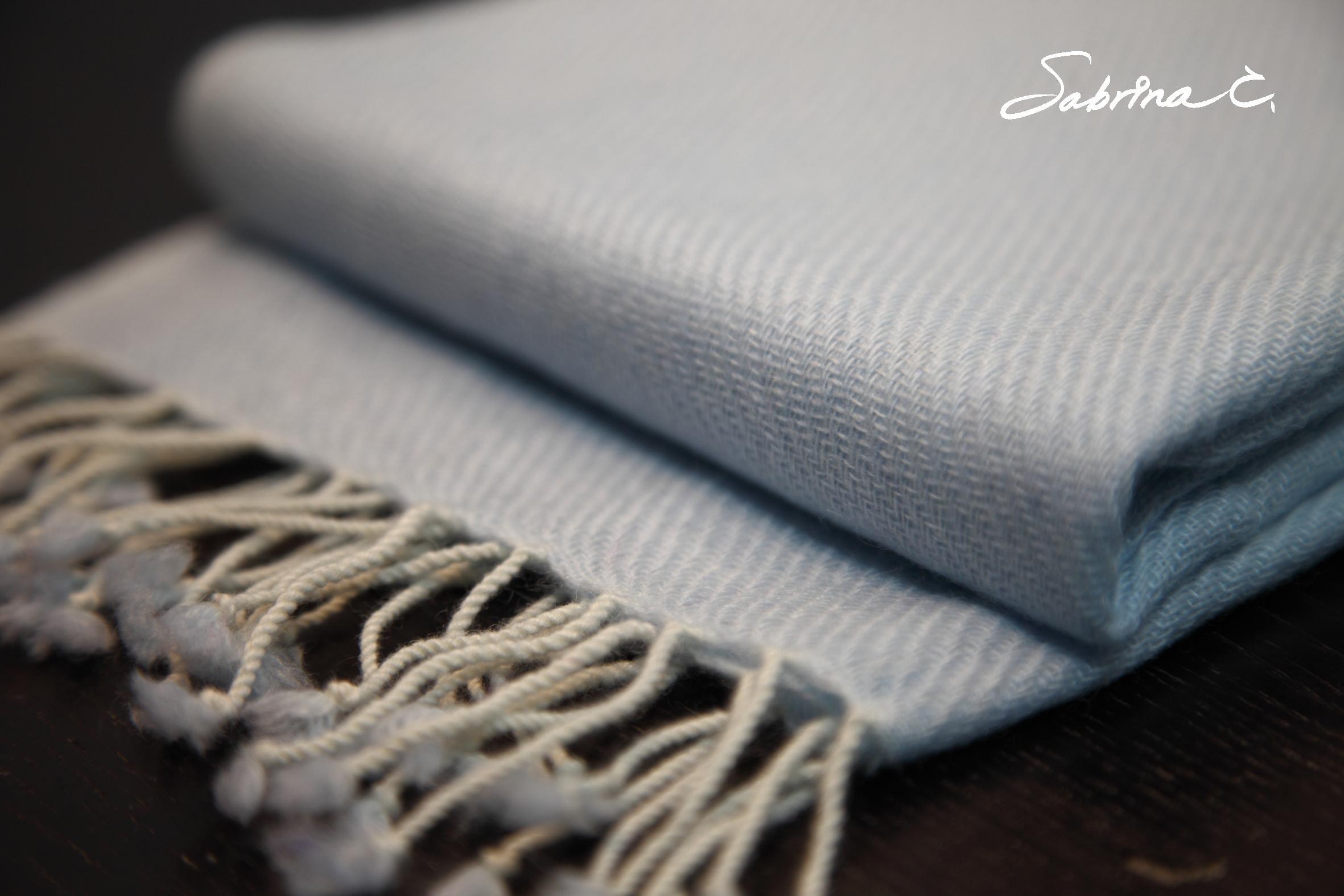 Cashmere迷你厚織圍巾(14071)