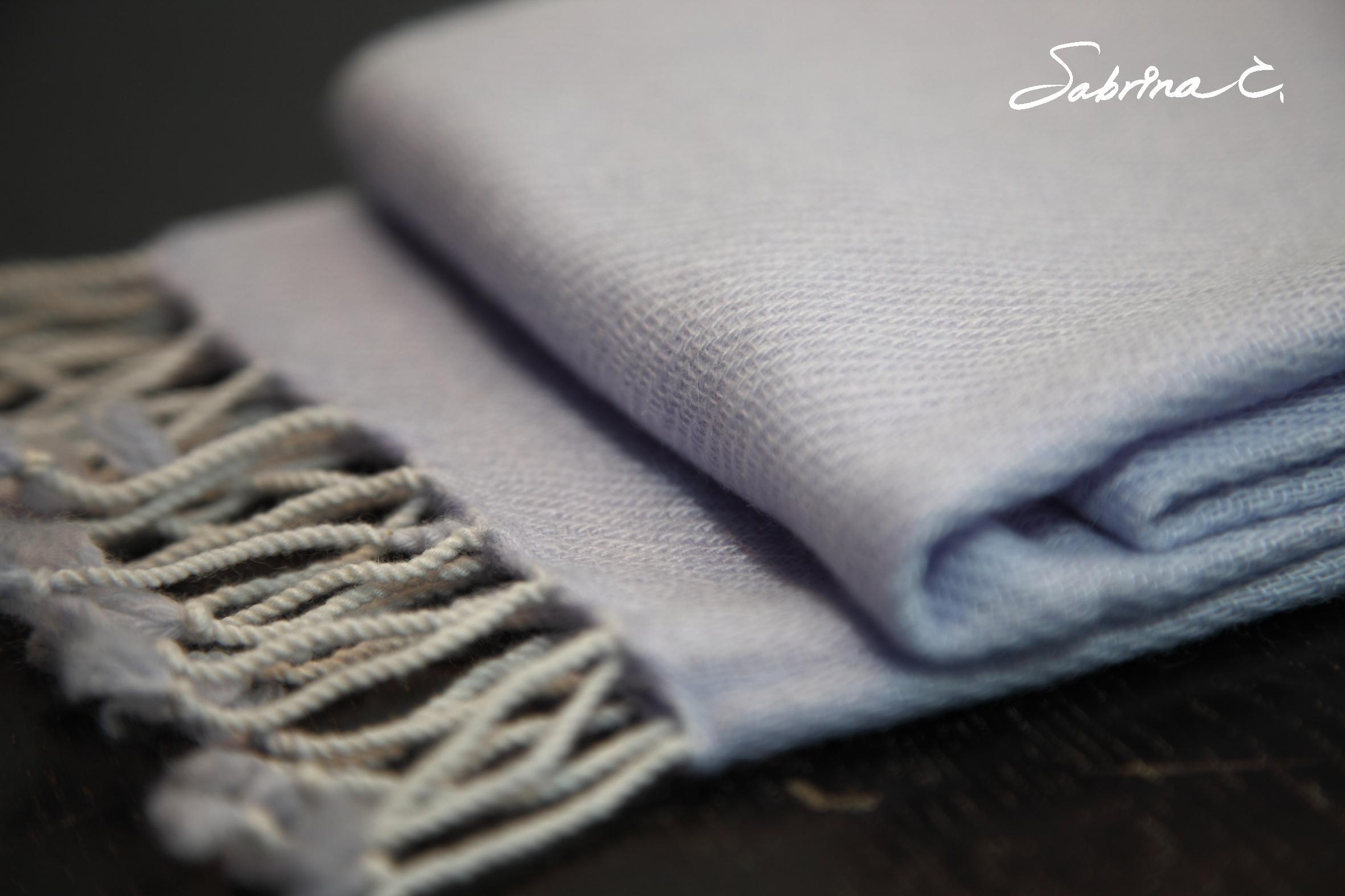 Cashmere迷你厚織圍巾(14073)