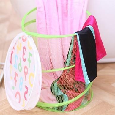 【八八八】e網購~【帶蓋折疊收納桶LA469】NO135洗衣籃玩具收納