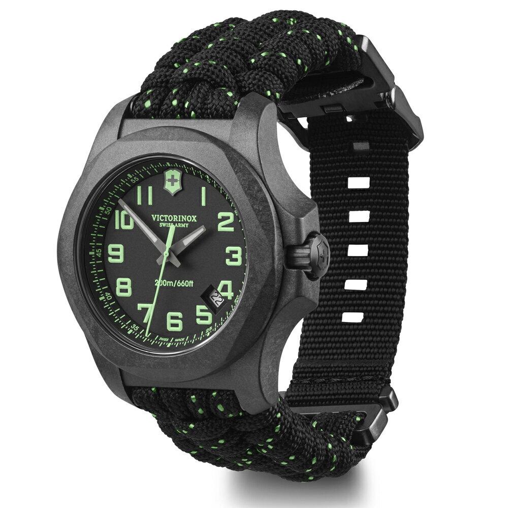 VICTORINOX SWISS ARMY瑞士維氏I.N.O.X. Carbon手錶 VISA-241859 黑