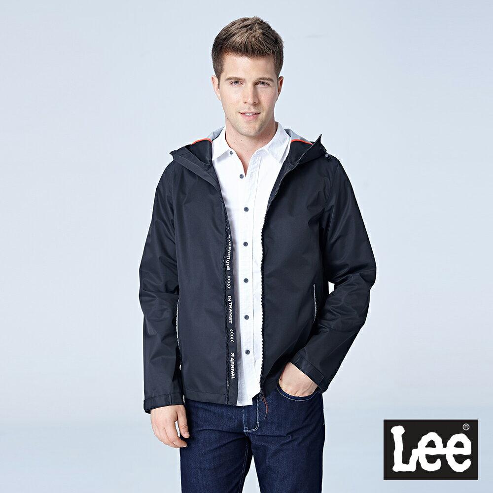 Lee 連帽防風外套 / UR-黑色-男款 0