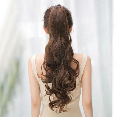 長假髮假馬尾-氣質波浪仿真長捲髮女假髮3色73rr54【獨家進口】【米蘭精品】 2